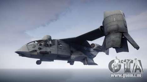 VTOL Warship PJ1 pour GTA 4