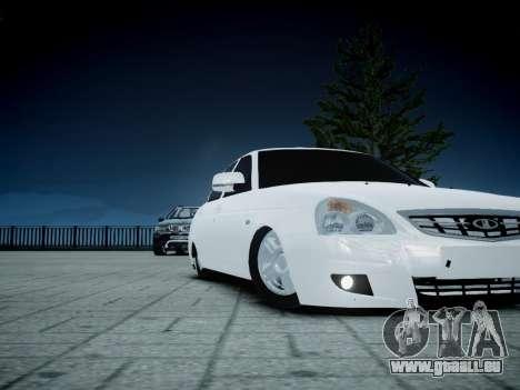 VAZ 2170 pour GTA 4 Vue arrière