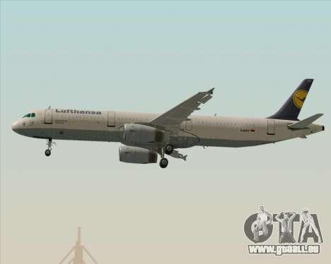 Airbus A321-200 Lufthansa pour GTA San Andreas moteur