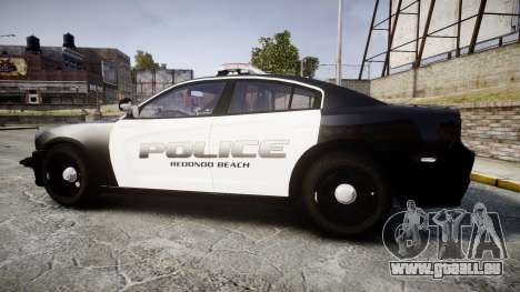 Dodge Charger 2014 Redondo Beach PD [ELS] für GTA 4 linke Ansicht