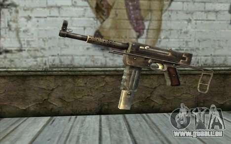 MAT-49 from Battlefield: Vietnam für GTA San Andreas