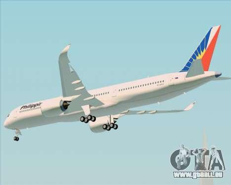 Airbus A350-900 Philippine Airlines für GTA San Andreas Rückansicht