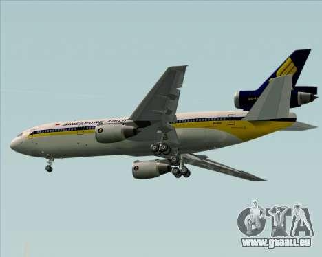 McDonnell Douglas DC-10-30 Singapore Airlines pour GTA San Andreas moteur