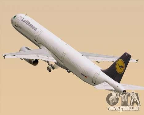 Airbus A321-200 Lufthansa für GTA San Andreas
