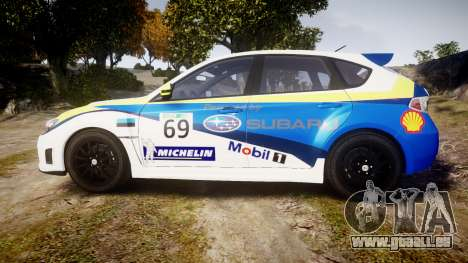 Subaru Impreza Cosworth STI CS400 2010 Custom für GTA 4 linke Ansicht