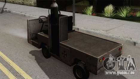 Umbrella Cart pour GTA San Andreas laissé vue