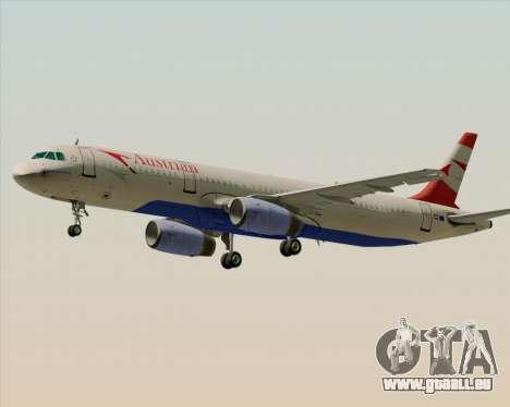 Airbus A321-200 Austrian Airlines pour GTA San Andreas vue de dessus