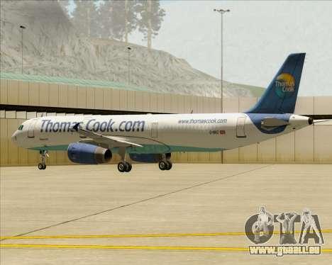 Airbus A321-200 Thomas Cook Airlines für GTA San Andreas Motor