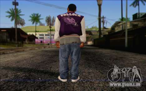 Ballas from GTA 5 Skin 2 pour GTA San Andreas deuxième écran