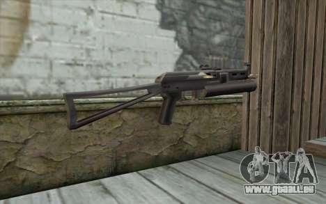 ПП-19 von Schusswaffen für GTA San Andreas zweiten Screenshot
