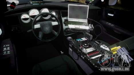 Dodge Charger 2010 LC Sheriff [ELS] pour GTA 4 Vue arrière