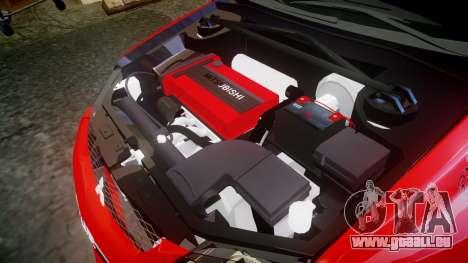 Mitsubishi Lancer Evolution IX Fast and Furious pour GTA 4 est un côté
