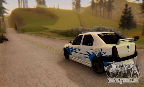 Dacia Logan Tuning für GTA San Andreas linke Ansicht