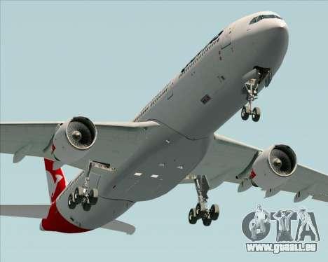 Airbus A330-300 Qantas (New Colors) pour GTA San Andreas vue de droite
