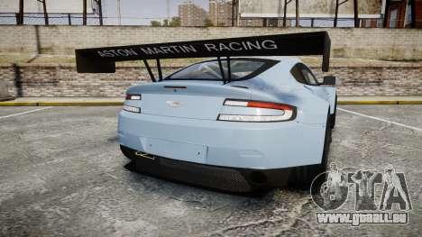 Aston Martin Vantage GTE [Updated] für GTA 4 hinten links Ansicht