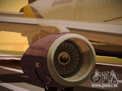Airbus A321-232 Monarch Airlines für GTA San Andreas
