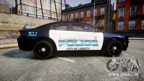 Dodge Charger 2015 City of Liberty [ELS] für GTA 4 linke Ansicht