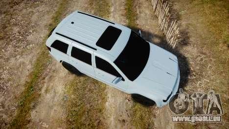 Jeep Grand Cherokee SRT8 stock pour GTA 4 est un droit