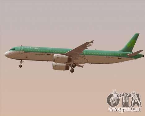 Airbus A321-200 Aer Lingus für GTA San Andreas Räder