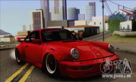 Porsche 930 Turbo Look 1985 Tunable pour GTA San Andreas vue de droite