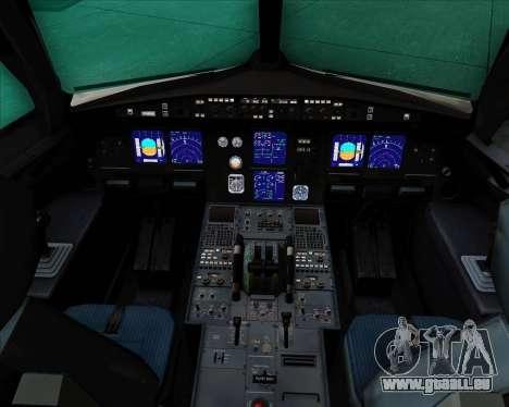 Airbus A321-200 Aeroflot - Russian Airlines pour GTA San Andreas salon