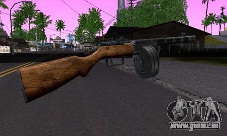 Gun Shpagina für GTA San Andreas zweiten Screenshot