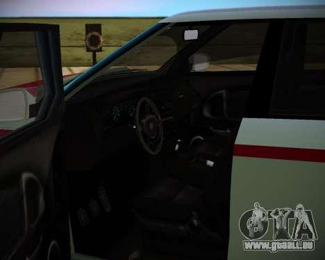 Huntley S für GTA San Andreas zurück linke Ansicht