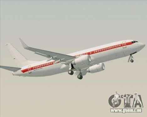 Boeing 737-800 EG&G - Janet pour GTA San Andreas moteur