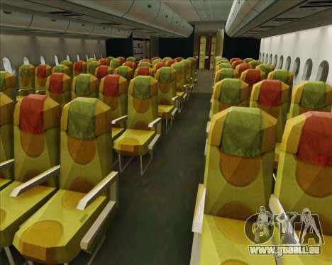 Airbus A380-800 Skymark Airlines pour GTA San Andreas roue