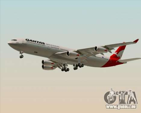 Airbus A340-300 Qantas pour GTA San Andreas laissé vue
