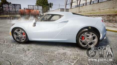 Alfa Romeo 4C pour GTA 4 est une gauche