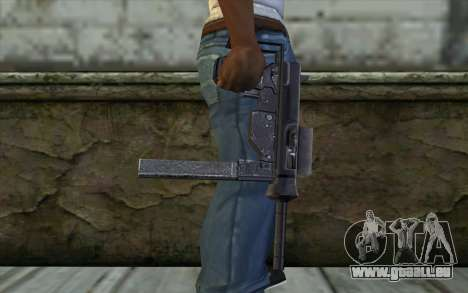 Grease Gun from Day of Defeat pour GTA San Andreas troisième écran