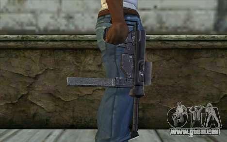 Grease Gun from Day of Defeat pour GTA San Andreas troisième écran