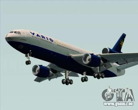 McDonnell Douglas DC-10-30 VARIG für GTA San Andreas zurück linke Ansicht