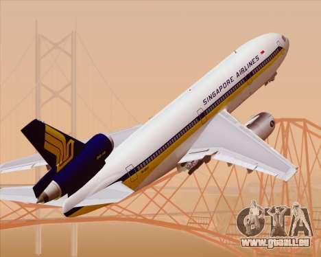 McDonnell Douglas DC-10-30 Singapore Airlines pour GTA San Andreas