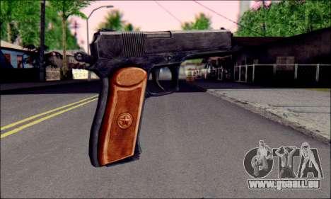 OTS-33 Mace pour GTA San Andreas deuxième écran