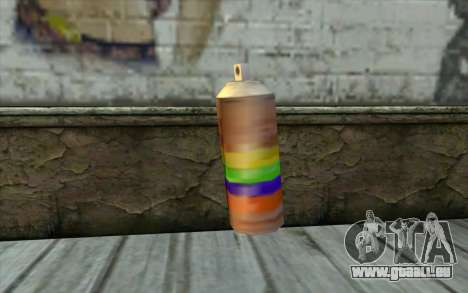 Spray Can from Beta Version pour GTA San Andreas