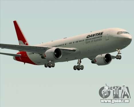 Boeing 767-300ER Qantas (Old Colors) pour GTA San Andreas vue de dessous