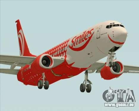 Boeing 737-800 Gol Transportes Aéreos pour GTA San Andreas vue de droite