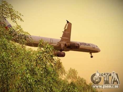 Airbus A321-232 jetBlue I love Blue York pour GTA San Andreas moteur