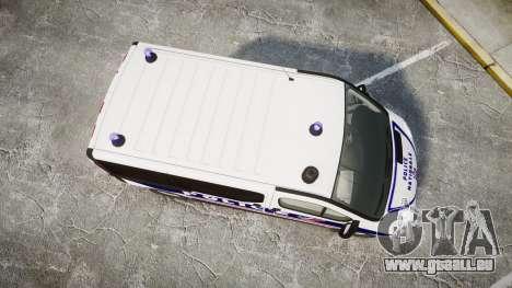 Renault Trafic Police Nationale für GTA 4 rechte Ansicht