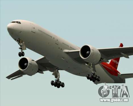 Boeing 777-21BER Nordwind Airlines pour GTA San Andreas moteur
