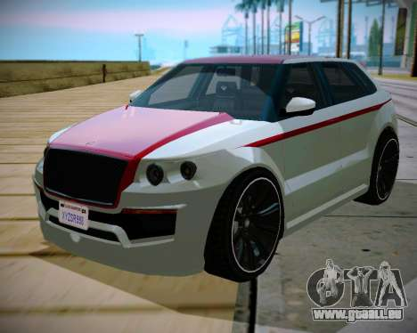Huntley S pour GTA San Andreas