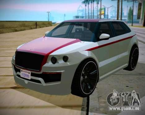 Huntley S für GTA San Andreas