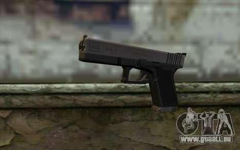 Glock from Half - Life Paranoia für GTA San Andreas