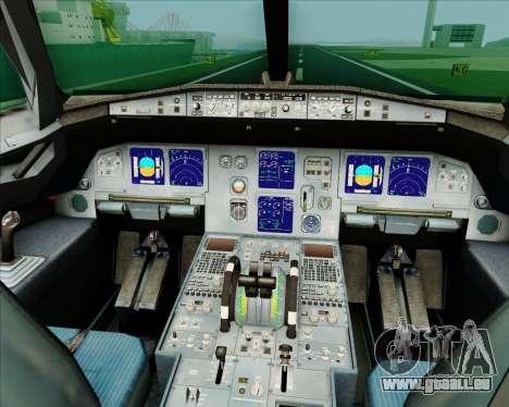Airbus A321-200 Air China (Beautiful Sichuan) für GTA San Andreas Innen