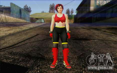 Mila 2Wave from Dead or Alive v8 pour GTA San Andreas