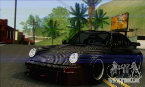 Porsche 930 Turbo Look 1985 Tunable pour GTA San Andreas salon