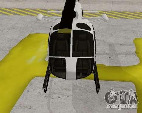 Buckingham Maverick V1.0 pour GTA San Andreas laissé vue