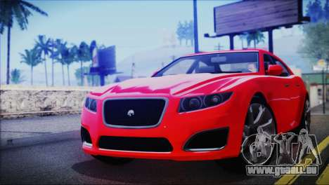 Lampadati Felon für GTA San Andreas